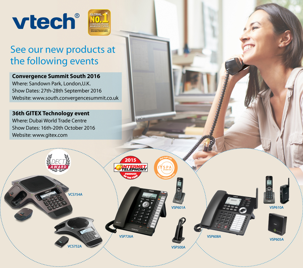 See Our New Products at Convergence Summit South (London) and Gitex Technology Event (Dubai)